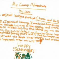 24 - Camp Story Contest