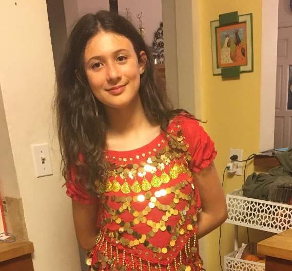 Luiza Age 10